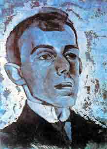 «Головой портрет». Лев Бруни, 1916.