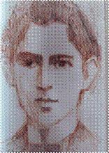 Рис. Ильи Шенкера, NY, 2004.