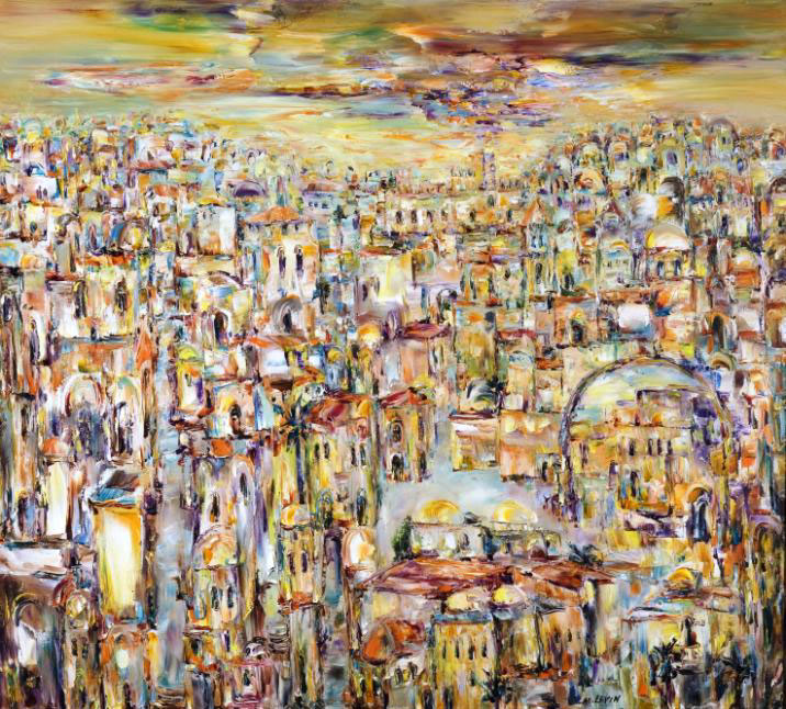 Панорама Золотого Иерусалима. 2008
