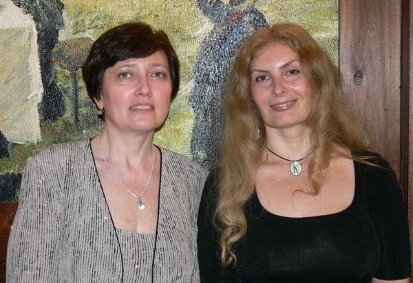 Лиана Алавердова и Вера Зубарева