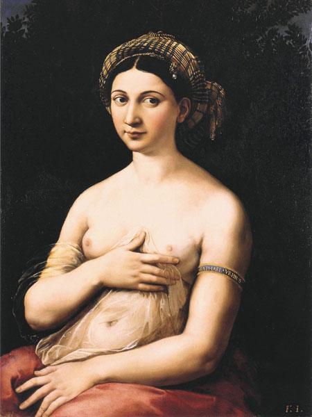 Форнарина, Рафаэль, 1518-1519 гг.